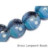 10414612 - Four Bluebell Moonlight Lentil Beads