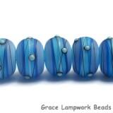 10414701 - Seven Arctic Blast Rondelle Beads