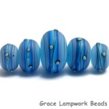10414711 - Five Arctic Blast Graduated Rondelle Beads