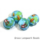 Mermaid Grace Lampwork Beads