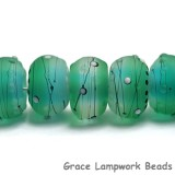 10508801 - Seven Emerald City Rondelle Beads