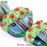 Apple Tree Lentil Beads