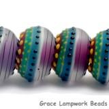 11009121 - Six Rio de Janeiro Matte Rondelle Beads