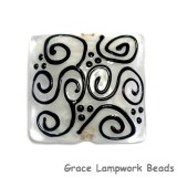 11813104 - Black & White Pillow Focal Bead