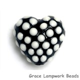 11814605 - Black w/White Dots Heart