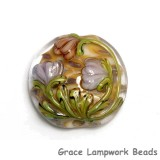 11815002 - Antique Garden Lentil Focal Bead