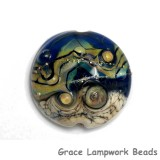 11815702 - Transparent Purple Free Style Lentil Focal Bead