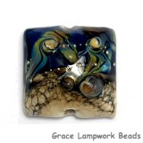 11815704 - Transparent Ink Blue w/Free Style Pillow Focal Bead