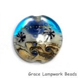 11815902 - Seashell Beach Lentil Focal Bead