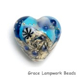 11815905 - Seashell Beach Heart Bead