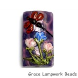 11816703 - Red Dragonfly/Violet Garden Kalera Focal Bead