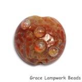 11817602 - Orange Lentil Focal Bead