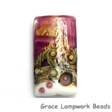 11818403 - Cranberry Treasure Kalera Focal Bead