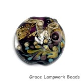 11818502 - Amethyst Treasure Lentil Focal Bead