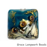 11819304 - Teal Treasure Pillow Focal Bead