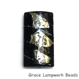 11819603 - Elegant Black Metallic Kalera Focal Bead