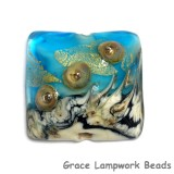 11819804 - Aqua Treasure Pillow Focal Bead