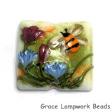 11830104 - Bumble Bee Garden Pillow Focal Bead