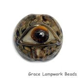 11830402 - Brown Eyed Lentil Focal Bead