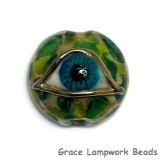 11830502 - Green Eyed Lentil Focal Bead