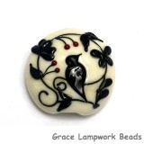 11830702 - Tranquility Vines Opaque Lentil Focal Bead