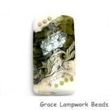 11831203 - Olive Stardust Kalera Focal Bead