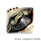 11831304 - Dark Cherry Stardust Pillow Focal Bead