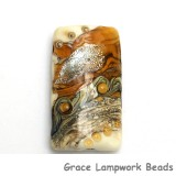 11831403 - Butterscotch Stardust Kalera Focal Bead