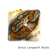 11831404 - Butterscotch Stardust Pillow Focal Bead