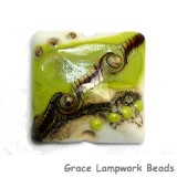 11831704 - Lime Stardust Pillow Focal Bead