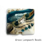 11831804 - Teal Stardust Pillow Focal Bead