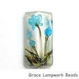 11832403 - Maya Blue Flower Kalera Focal Bead
