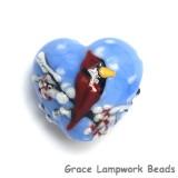 11833205 - Winter Red Cardinal Heart