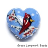 11833225 - Winter Red Cardinal Heart (Large)