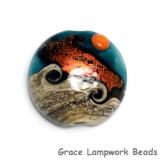 11833702 - Romantic Isle Waves Lentil Focal Bead