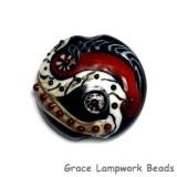 11834102 - Dakota Quilt Lentil Focal Bead