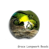 11834202 - Olivine Lentil Focal Bead