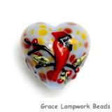 11834605 - Autumn Red Cardinal Heart