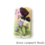 11834803 - Pink Sparkle Garden Butterfly Kalera Focal Bead