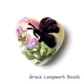 11834805 - Pink Sparkle Garden Butterfly Heart
