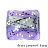 11835304 - Lilac Tea Party Pillow Focal Bead
