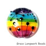 11835902 - Rainbow Balloons Lentil Focal Bead
