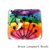 11835904 - Rainbow Balloons Pillow Focal Bead