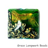 11836304 - Herbal Garden Shimmer Pillow Focal Bead