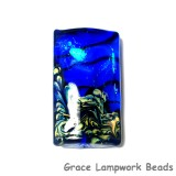 11836403 - Sapphire Sea Shimmer Kalera Focal Bead
