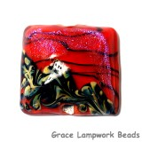11836604 - Passion Pink Shimmer Pillow Focal Bead