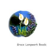 11836802 - Calla Lily Lake Lentil Focal Bead