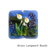 11836804 - Calla Lily Lake Pillow Focal Bead