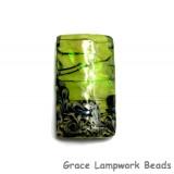 11837303 - Spring Green Shimmer Kalera Focal Bead