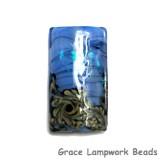 11837503 - Arctic Blue Shimmer Kalera Focal Bead